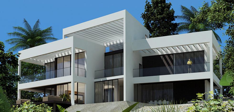 Проект дома на побережье, Доминиканская Республика (Англиский)