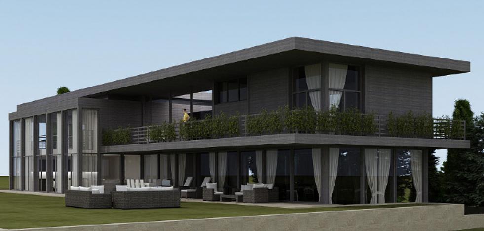 Проект дома в г. Тиват (Черногория) (Англиский)