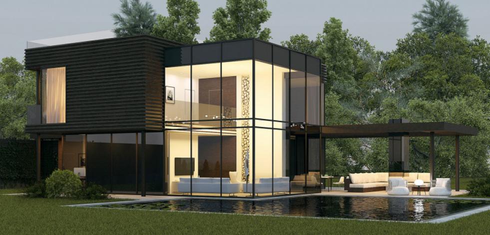 Проект дома в поселке Клубничные поля (Англиский)