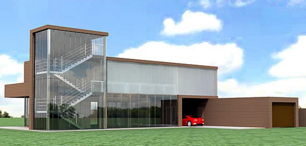 Архитектурный проект современного дома в Подмосковье (Англиский)