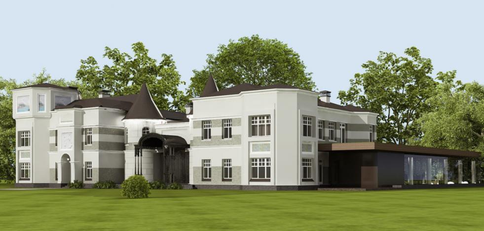 Частный дом с бассейном и СПА-комплексом (Англиский)