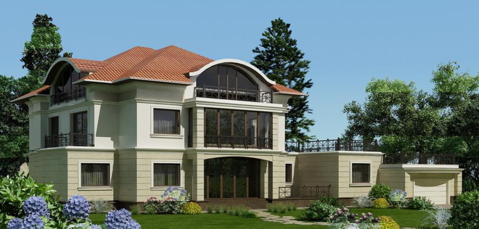 Проект дома в Архангельском (Англиский)