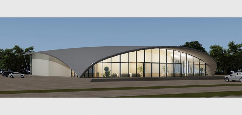 Проектирование спорткомплекса в г. Ковылкино (Англиский)