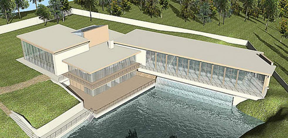 Проектирование частного спорткомплекса с бассейном на мосту (Англиский)