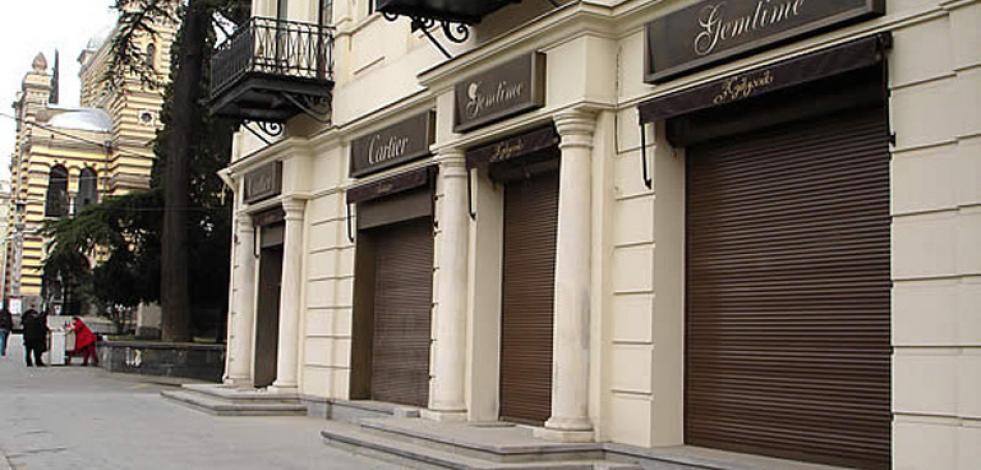 Реконструкция здания и магазина Cartier Gemtime в Тбилиси (Англиский)