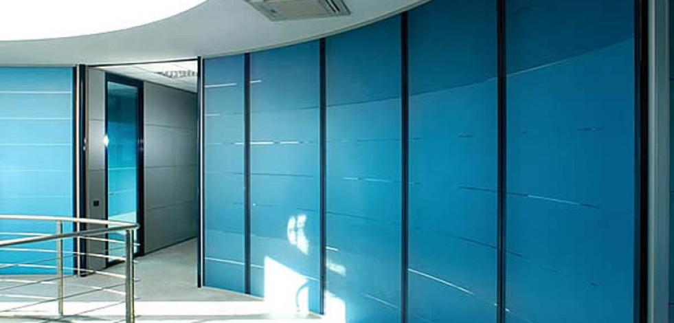 Интерьеры офисов с круглыми стенами (Англиский)