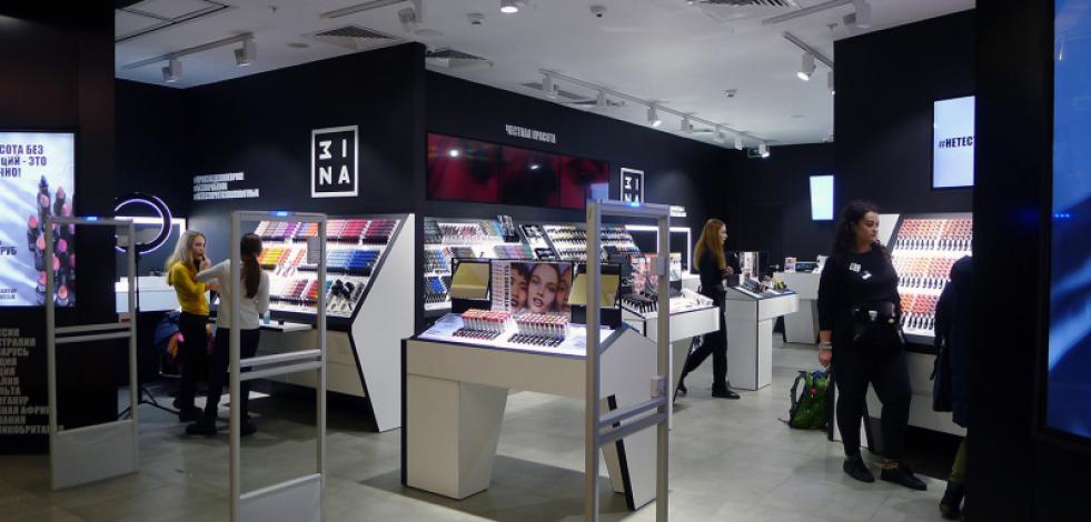 Boutique MINA, Atrium Mall, Moscow, Russia